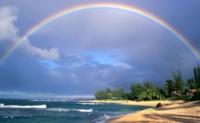 彩虹是怎么形成的?为什么彩虹外红内蓝?为什么彩虹是半圆弧状的?为什么雨后才能见到彩虹?